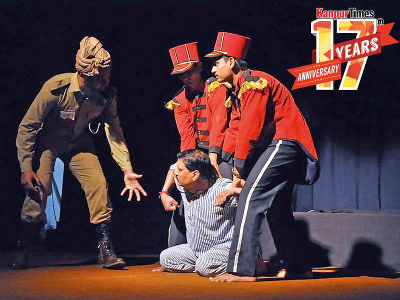 A still from the play Gagan Damama Bajyo which was streamed online (BCCL)