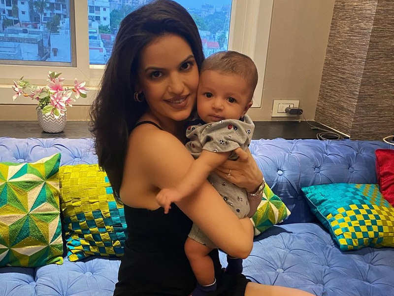 Natasa Stankovic shares pictures from son Agastya's three-month birthday,  Hardik Pandya misses the celebration | Hindi Movie News - Times of India