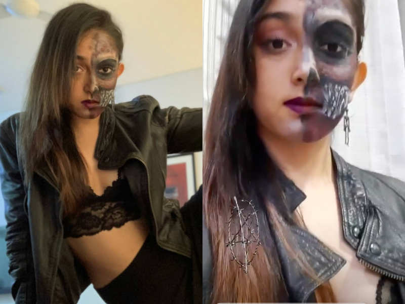 Halloween 2020: Ira Khan gives fans a glimpse of her spooky makeup and house party