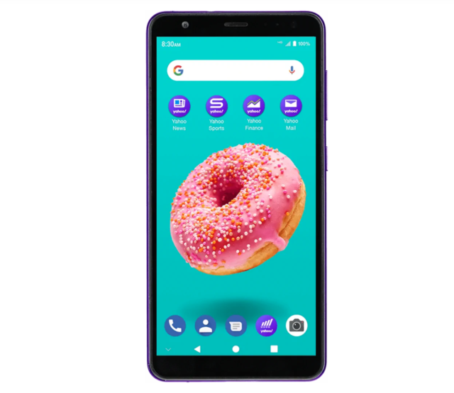 Yahoo launches its own Android phone for $50