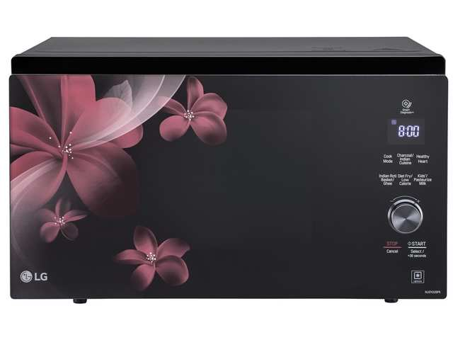 Cook healthy recipes for your loved ones with LG's Charcoal Healthy Microwave Oven