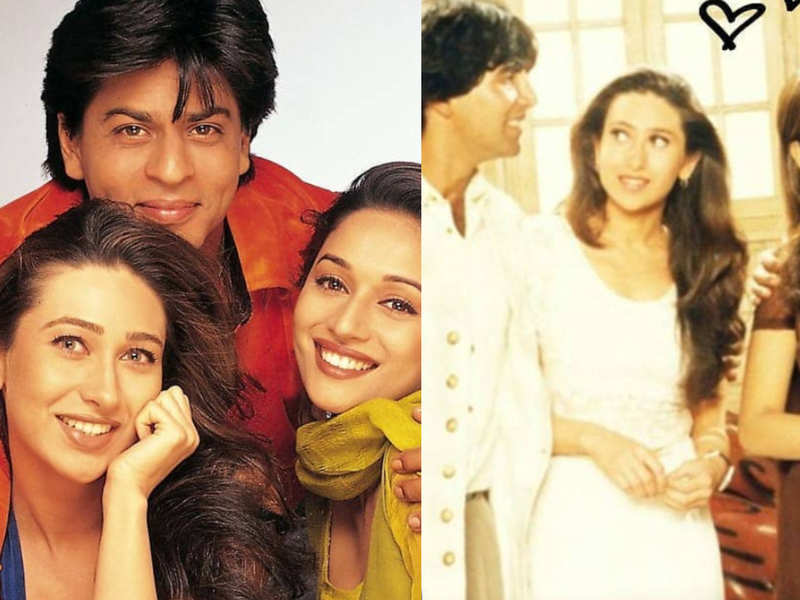 """Madhuri Dixit celebrates 23 years of Dil Toh Pagal Hai; Gets emotional and says """"a film very close to my heart"""""""