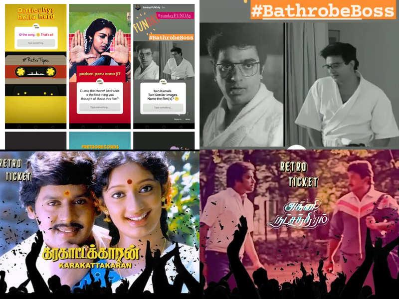 Celebrating Tamil cinema's golden era one reel at a time