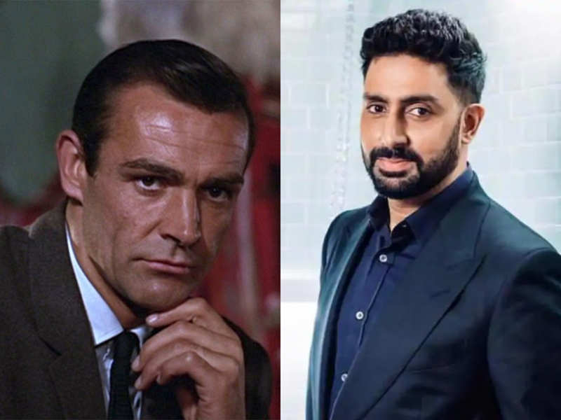 """""""There will never be a better Bond than you,""""Abhishek Bachchan mourns the death of Sean Connery"""