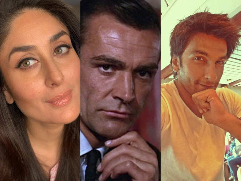 Kareena Kapoor Khan, Ranveer Singh, Farhan Akhtar and other BTown celebs mourn the death of Sean Connery