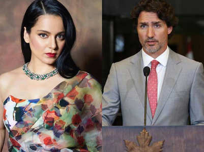 Kangana calls out Canada PM Justin Trudeau
