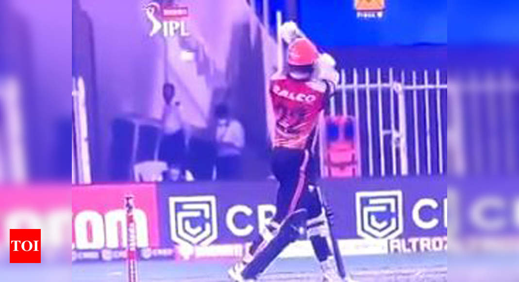 IPL 2020: Yuvraj, Archer surprised by umpiring decision in SRH-RCB tie | Cricket News – Times of India