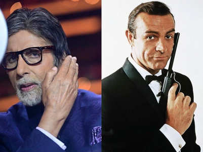 Big B mourns Sean Connery's death