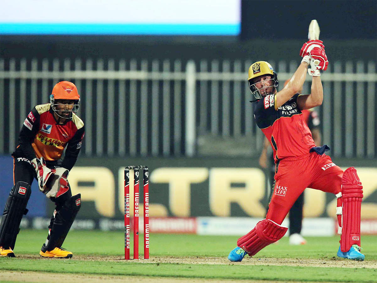 SRH vs RCB, IPL 2020: Terrible feeling to lose three in row, says AB de Villiers   Cricket News - Times of India