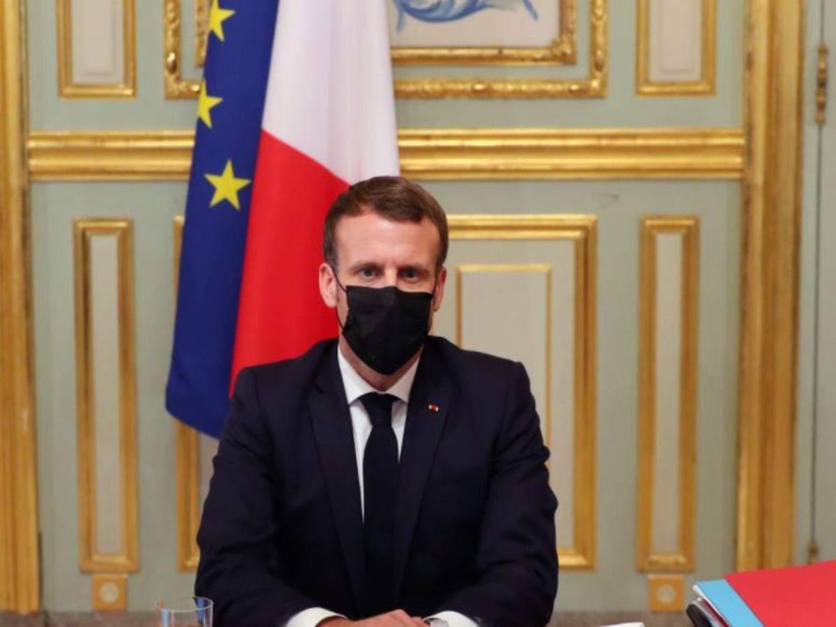 Battling Two Crises Emmanuel Macron Faces Defining Moment Times Of India