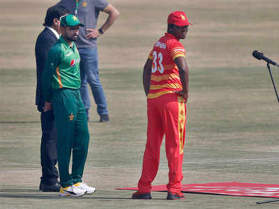 Zimbabwe win toss, bat in 2nd ODI against Pakistan