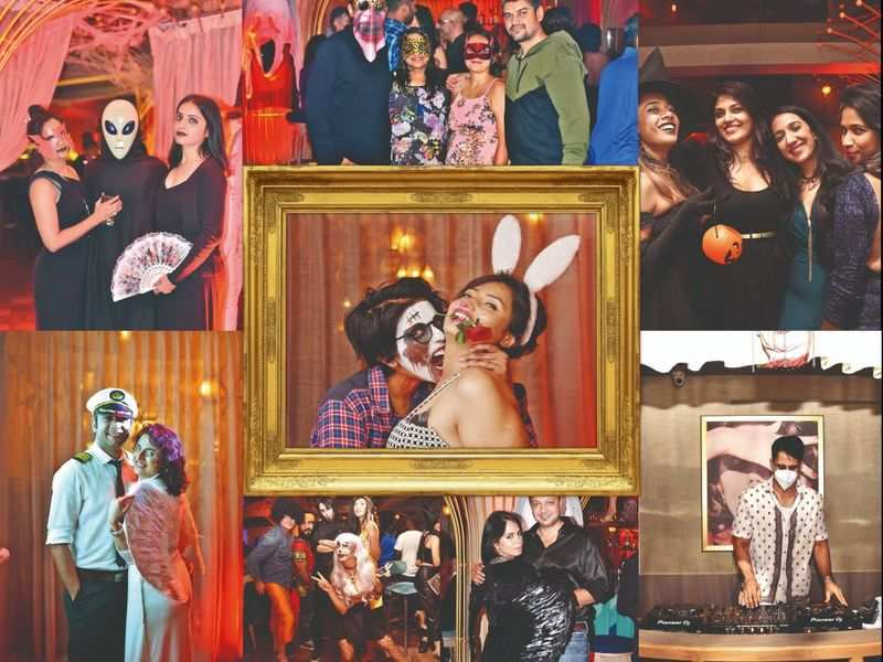 Bengalureans set out to celebrate Halloween at city hot spot