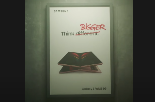 Samsung makes fun of iPhone 12; tells Apple to 'Think Bigger'