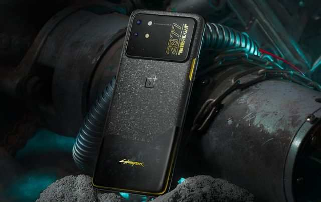 OnePlus 8T Cyberpunk 2077 Limited Edition smartphone launched