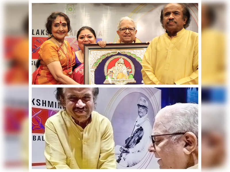Prof TN Krishnan presented his art in a dignified manner: Dr L Subramaniam