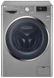 LG F4J8VHP2SD 9/5KG Fully Automatic Front Load Washing Machine
