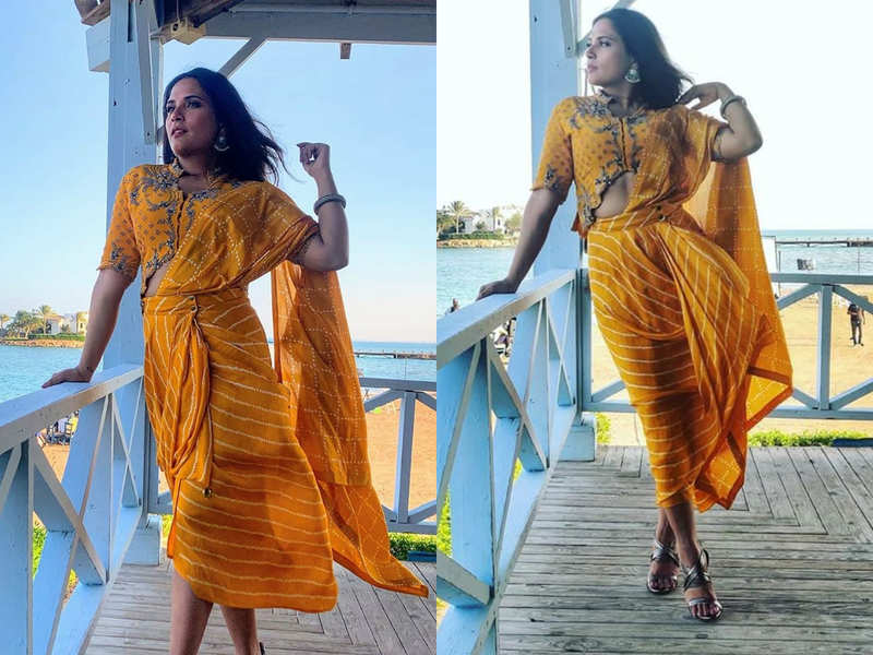 Richa Chadha's lungi sari is the hottest take on the Indian drape