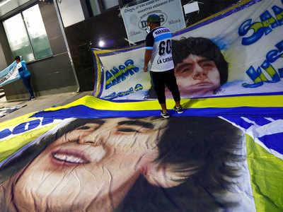 Maradona Krank