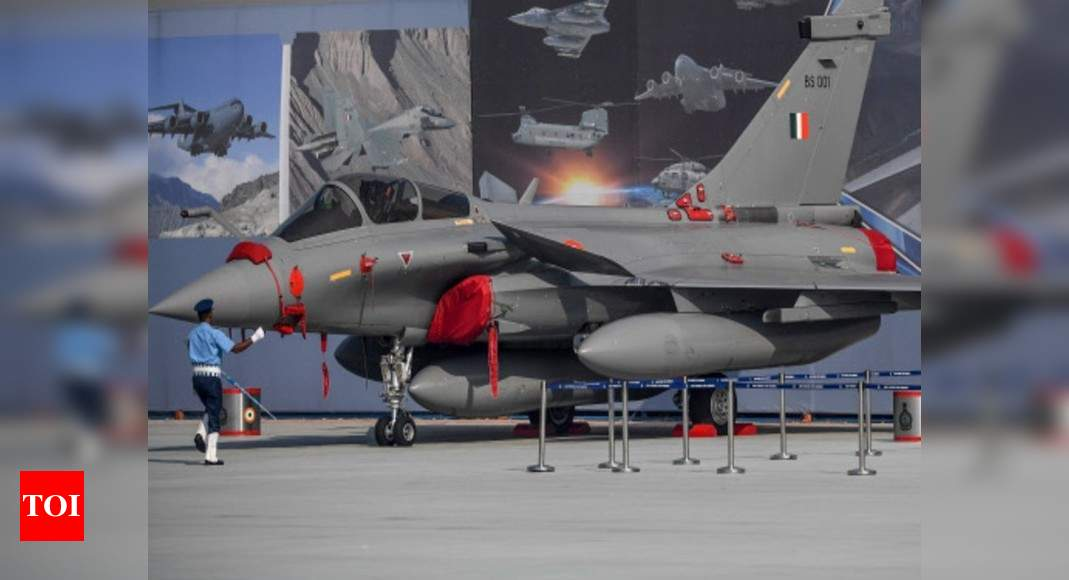 3 more Rafale fighters touch down in India | India News – Times of India