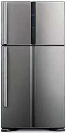 Hitachi RVG660PND7 601Ltr Frost Free Refrigerator (Glass Grey)