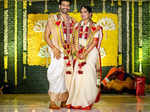 Actor Raja Chembolu ties the knot with Himabindu Lakshmi