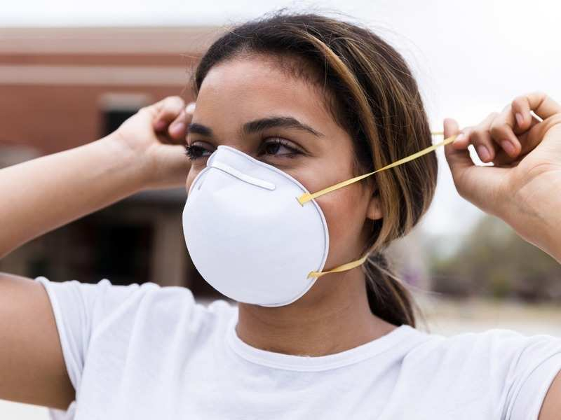 Masks that fight against pollution as well as COVID