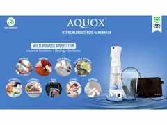 Aquox launches DIY portable Disinfectant & Sanitizer Generators priced at Rs 1,599 and Rs 3,999