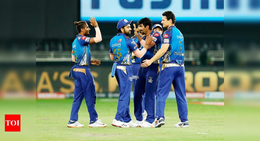 MI vs DC: Mumbai Indians crush Delhi Capitals by 57 runs, reach 6th IPL final | Cricket News – Times of India