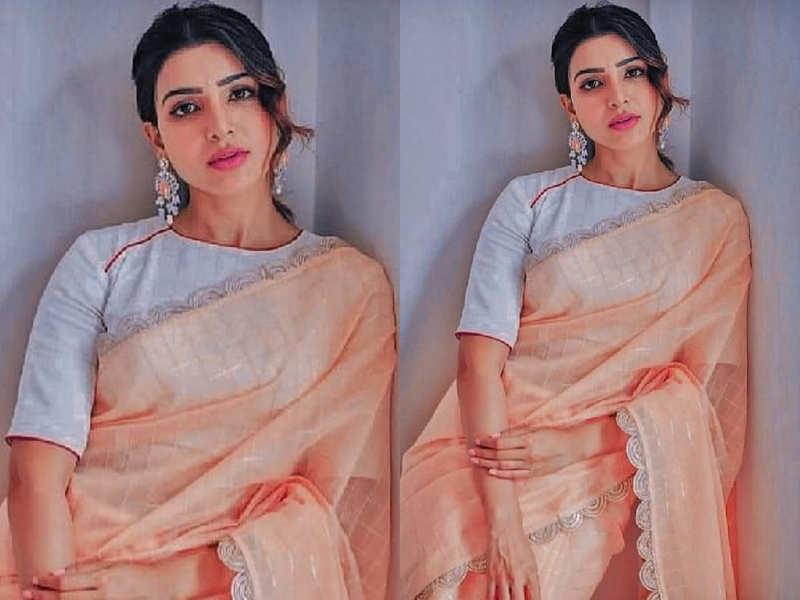 Samantha Akkineni's self-designed sari is beautiful beyond words