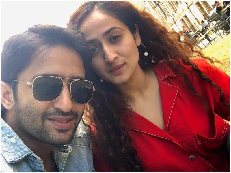 Shaheer Sheikh and Ruchikaa Kapoor