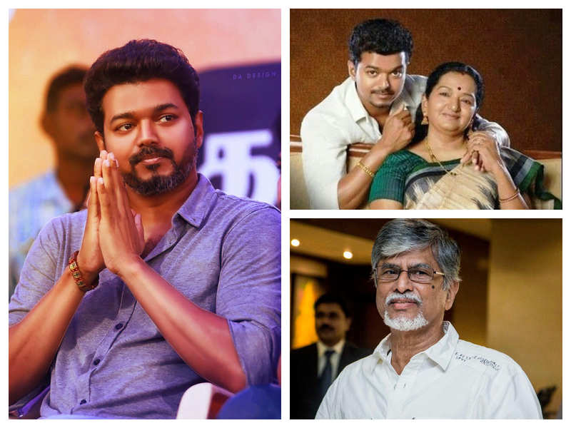 Vijay's mother Sobha reveals the truth; Vijay has stopped talking to his dad    Tamil Movie News - Times of India