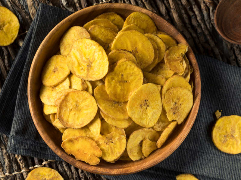 Are banana chips really healthy?