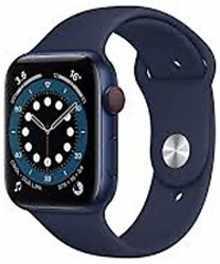 Apple Watch Series 6 GPS+Cellular 44mm M09A3HN/A Aluminium Dial Smart Watch (Blue)