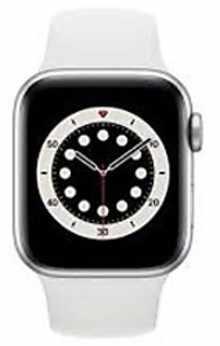 Apple Watch Series 6 M06M3HN/A GPS + Cellular 40mm Aluminium Dial Smart Watch (Silver)