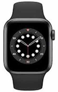 Apple Watch Series 6 M06P3HN/A GPS + Cellular 40mm  Aluminium Dial Smart Watch (Space Grey)