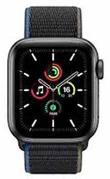 Apple Watch Series SE MYEL2HN/A GPS + Cellular 40mm Aluminium Dial Smart Watch (Space Grey)