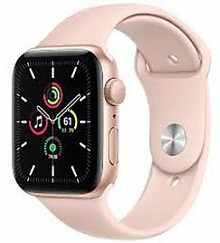 Apple Watch SE MYDR2HN/A GPS 44mm Aluminium Dial Smart Watch (Gold)