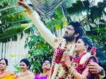 'Bigg Boss Telugu 2' fame Samrat Reddy ties the knot with Anjana Sri Likitha