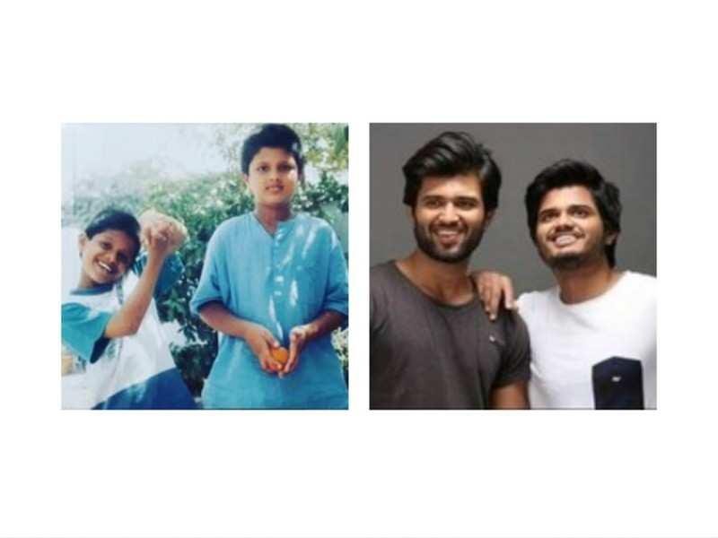 Vijay Deverakonda and Anand Deverakonda's unseen picture and summer memories