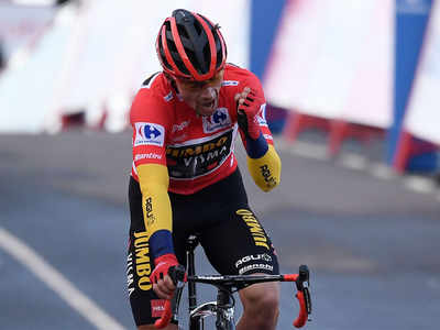 Roglic reclaims Vuelta lead with time trial victory