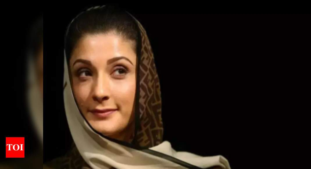 She's beautiful…but spent taxpayers' money to fix herself: Pak minister on Maryam – Times of India