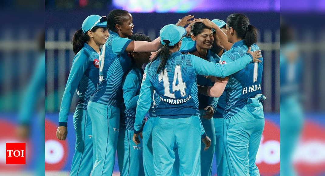 Women's T20 Challenge: Supernovas beat Trailblazers by two runs to enter final   Cricket News – Times of India