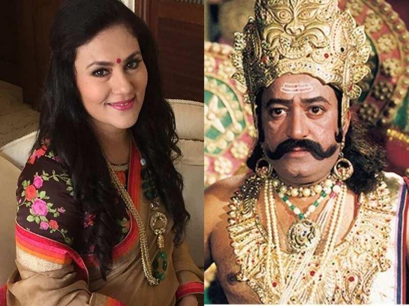 Ramayan's 'Sita' Dipika Chikhlia calls Arvind Trivedi 'the best Ravan to date'; shares interesting anecdote on his birthday