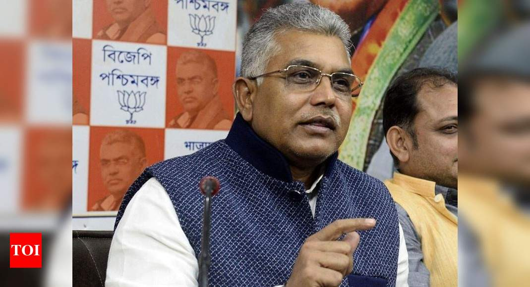 Mend your ways or will have to go to crematorium: Dilip Ghosh to TMC cadres | India News – Times of India