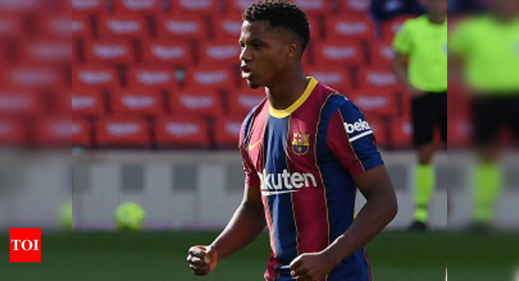 Teenager Fati out for four months, say Barcelona | Football News – Times of India