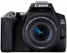 Canon EOS 200D II DSLR Camera EF-S 18 - 55 mm IS STM Lens