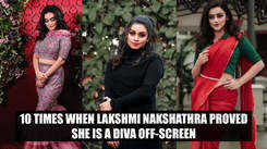 10 times when Lakshmi Nakshathra proved she is a diva off-screen
