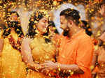 'Kudumbavilakku' actress Athira Madhav ties the knot with long-term boyfriend Rajeev Menon