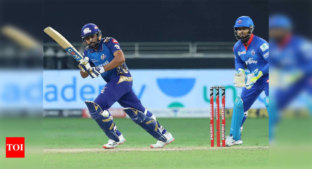 IPL 2020: Rohit Sharma completes 4,000 runs for Mumbai Indians | Cricket News – Times of India