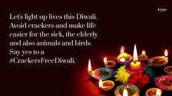 Saptarshi Maulik calls for a cracker-free Diwali